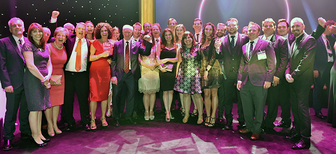 Unipart wins Digital award at the Responsible Business Awards