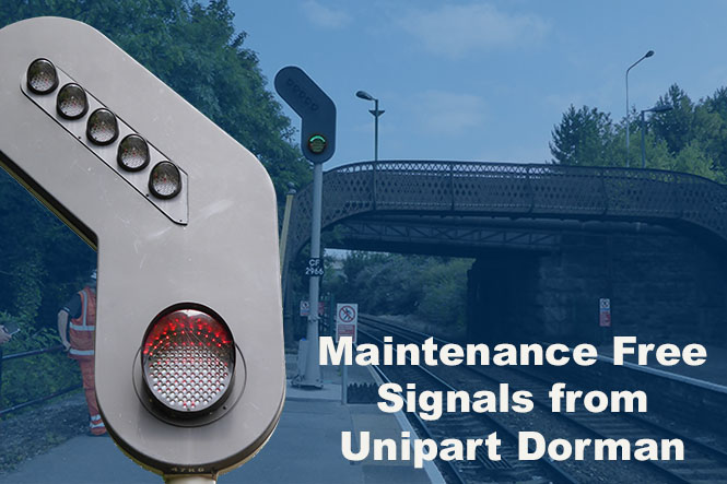 Lightweight Signals from Unipart Dorman are endorsed 'Self Cleaning' by Network Rail