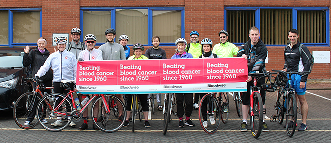 Cycling for Bloodwise