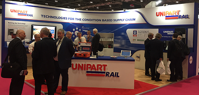 Thank you for visiting Unipart Rail at InfraRail 2018