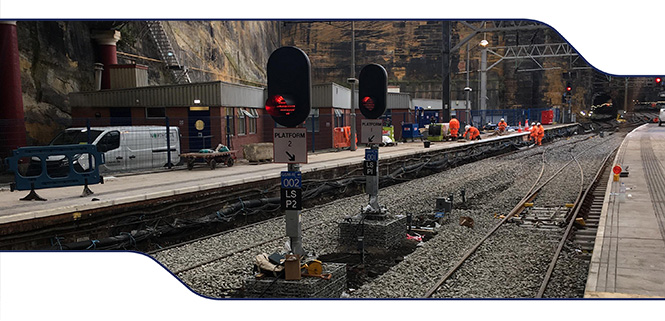 Re-Signalling at Lime Street Station