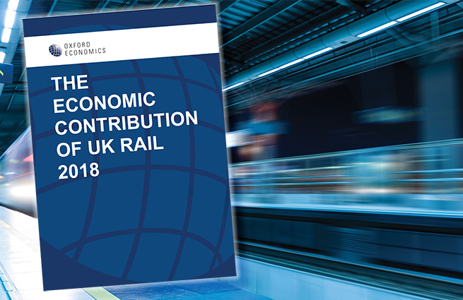 The Economic Contribution of UK Rail Report Launch