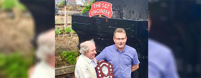 Park Signalling Director Awarded Trophy