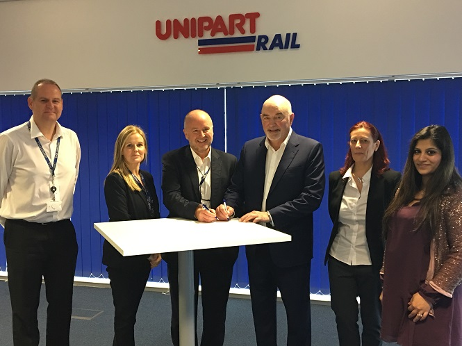 Unipart Rail team up with Ferrartis