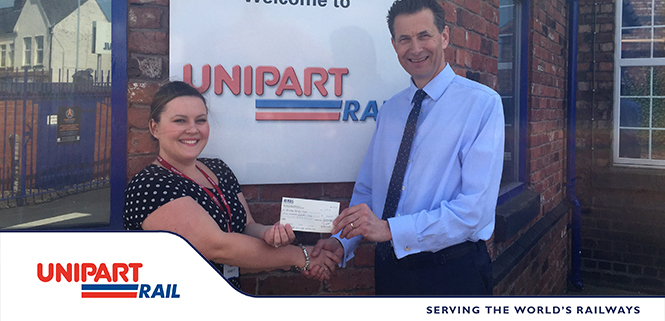 Unipart Rail continues to support the Railway Benefit Fund