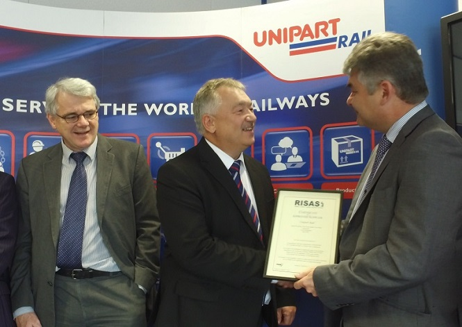 Unipart Rail joins the Railway Industry Supplier Approval Scheme (RISAS)