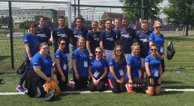 Unipart Rail supports the RailSport Games 2017