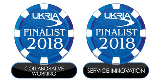 We have made the #UKRIA2018 shortlist