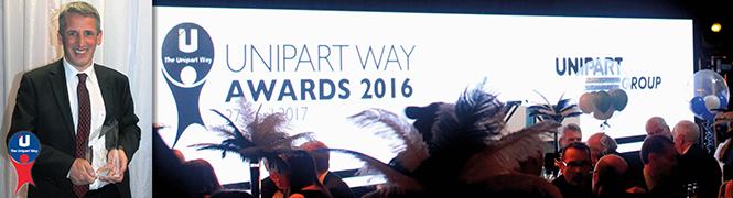 Unipart Rail Crewe wins 'Best in Group'