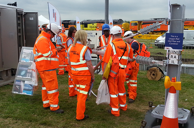 Busy days at Rail Live