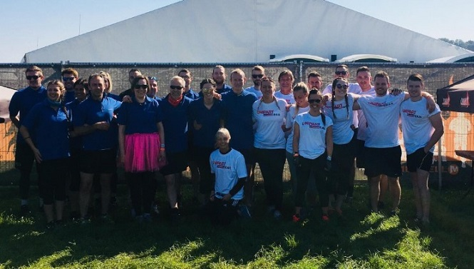 Tough Mudder Challenge raised over £1250 by Unipart Rail and Porterbrook
